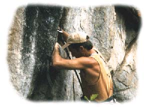 Paul Piana, World Class Rock Climber