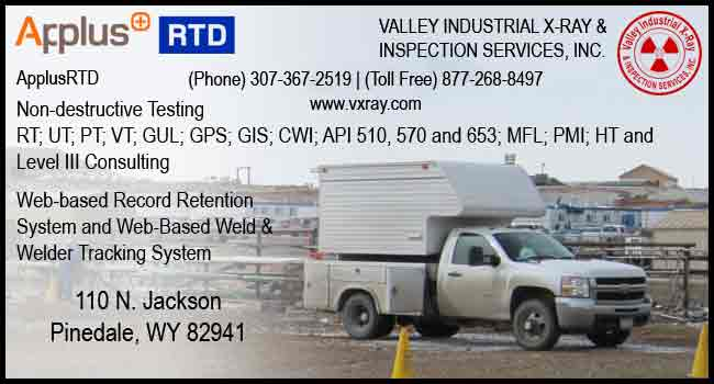 Valley Industrial X-Ray & Inspection Services Inc.