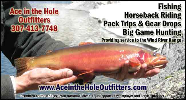 Ace in the Hole Outfitters. Permitted Bridger-Teton National  Forest - Equal Opportunity  Service Provider.