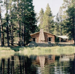 Big Sandy Lodge, located in the southern Wind River Mountains