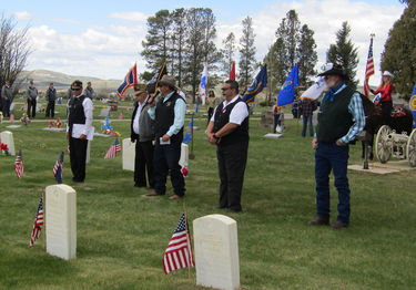 Memorial Day. Photo by Dawn Ballou, Pinedale Online!