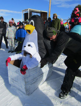 Cardboard Classic Race. Photo by Dawn Ballou, Pinedale Online!