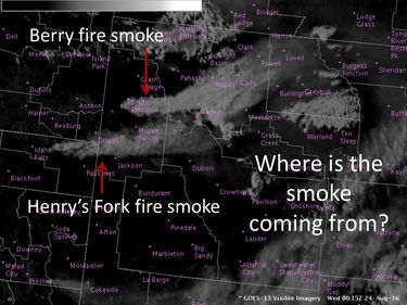 Wildfires and smoke