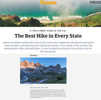 50 Best Hikes in the U.S.