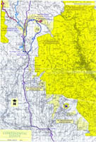 Continental Divide Trail Map