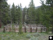 Corrals near trailhead