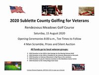 Golfing for Veterans August 15
