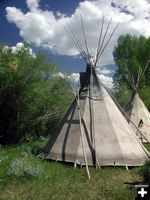 Plains Indian Encampment